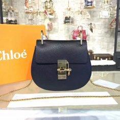 Chloe Drew Crossbody Bag Small 19cm Black