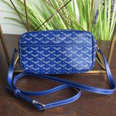 Goyard Sac Capvert Crossbody Bag Royal Blue